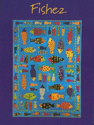 Fishez quilt pattern
