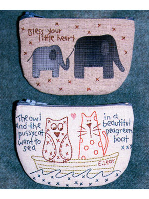 Little Critter Purses pattern