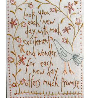 New Day Stitchery pattern