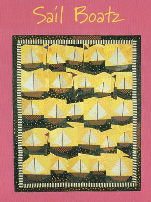 Sailboatz Quilt pattern
