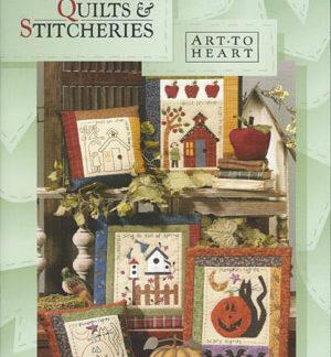 Calendar Quilts & Stitcheries book