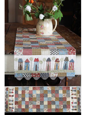 Tiny Town Table Runner pattern