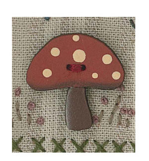 Toadstool Button