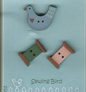 Sewing Bird button set