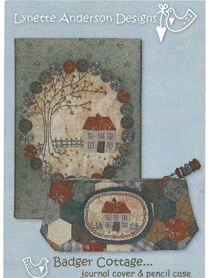 Badger Cottage journal cover & pencil case