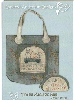 Three Amigos Bag & Coin Purse pattern