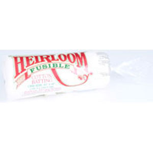 Hobbs Heirloom Fusible Cotton Wadding - Cot Size