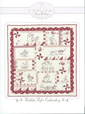 Rabbits Prefer Embroidery