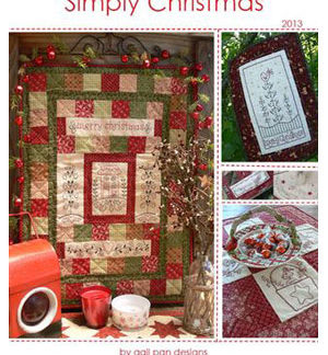 Simply Christmas book 2013by Gail Pan
