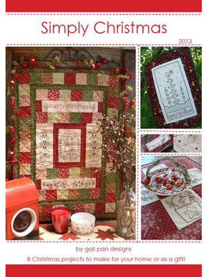 Simply Christmas book 2013by Gail Pan