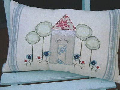 Country Home Cushion Pattern