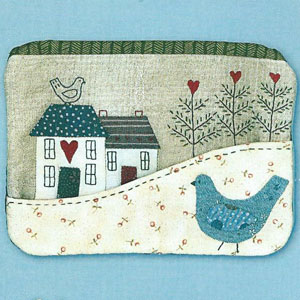 Country Cottage Purse pattern