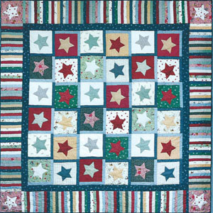 Star Bright Star Stripe pattern