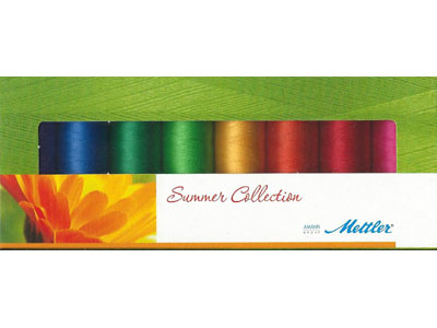 Mettler Silk Finish Summer Collection of 8