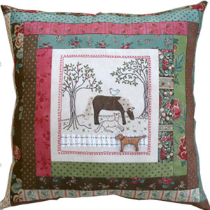 Noras Horses Cushion Pattern