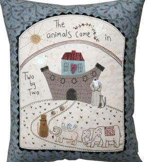 Noahs Ark Pillow pattern