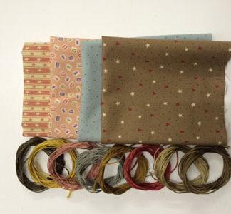Cake Money Purse fabric pack