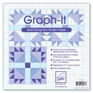 Graph-It - Quilt designers Graph Paper