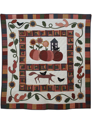 Fox and Friends quilt pattern