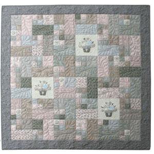 Flower Basket Quilt pattern