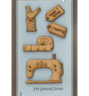 My Sewing Room button pack