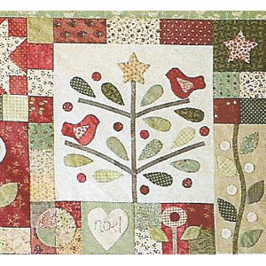 A Merry Christmas Garden Block of the Month