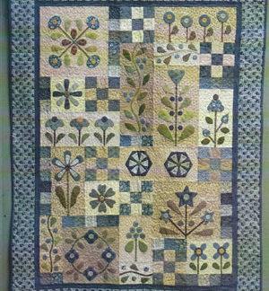 Flowerdale quilt pattern