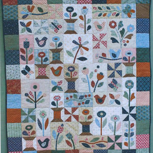 Sunshine and Butterflies Quilt pattern