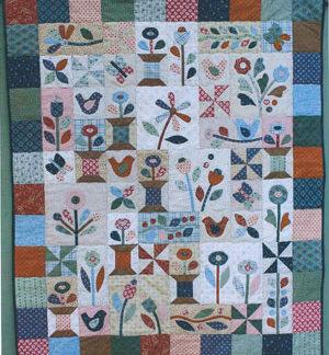 Sunshine and Butterflies Quilt pattern