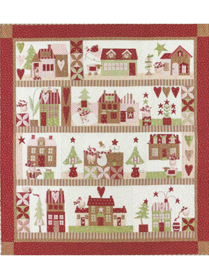 Mistletoe Lane Block Of The Month Quilt Pattern By Bunny Hill Extraordinary Block Of The Month Quilt Patterns