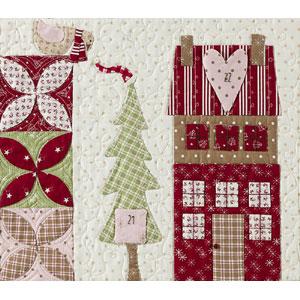 Mistletoe Lane Block of the Month Quilt pattern