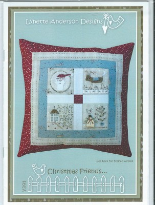 Christmas Friends cushion KIT