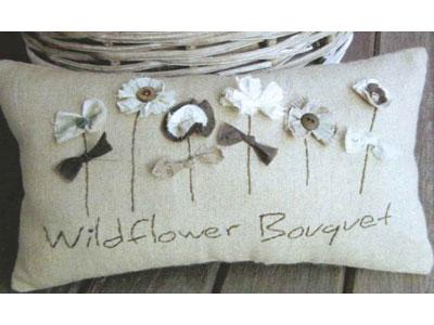 Wildflower Bouquet Cushion pattern