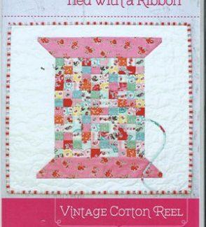 Vintage Cotton Reel Mini Quilt