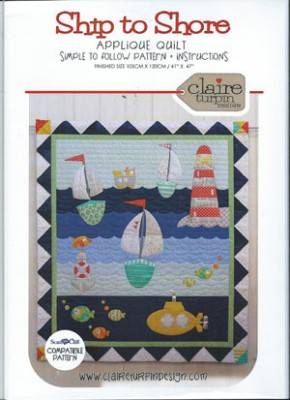 Ship to Shore Applique Quilt