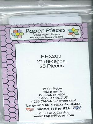"""2"""" Hexagon Papers"""