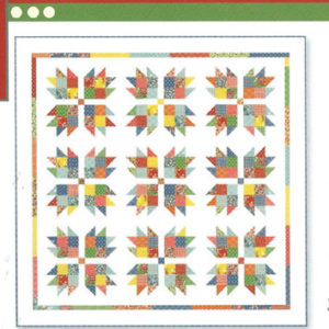 Frivol quilt Kit 8
