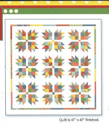 Frivol quilt Kit 8