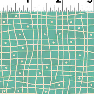 Heart & Home fabric - Dark Teal Check