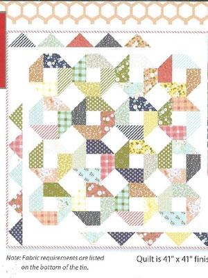 Frivol Quilt Kit 9
