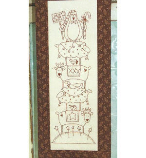 Deck the Halls Stitchery pattern