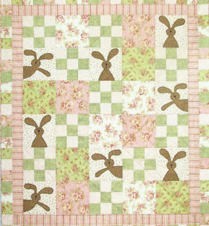 Peekaboo Bunny Quilt pattern
