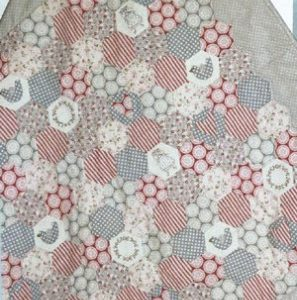 Pretty Little Hexies Quilt pattern