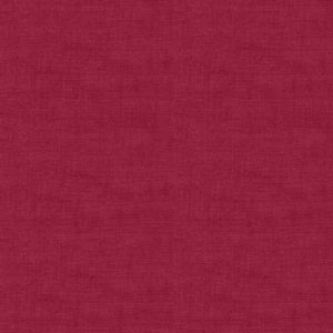 Dark Red Linen Texture fabric