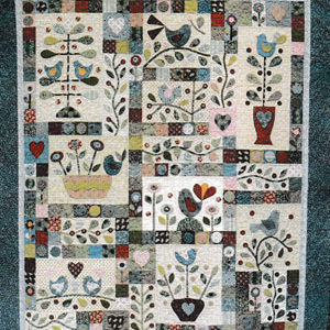 Berries and Bluebirds Block of the Month