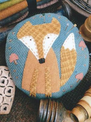 Frankie the Fox pincushion pattern