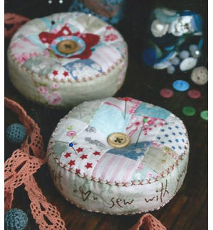 Heart and Soul pincushion pattern