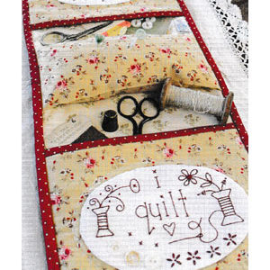 i stitch i quilt Armchair Caddy pattern