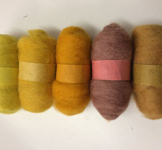 Wool Top - 5 pack of Yellows