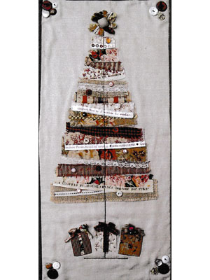 Vintage Memories Tree Pattern & Kit